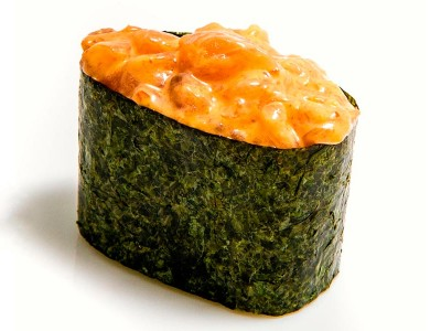 Спайси-суши с лососем